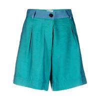 Forte Forte shorts bicolore - verde