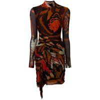 ALEXANDER MCQUEEN vestito donna 536830qll226350 viscosa rosso