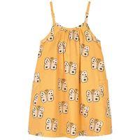 nadadelazos - butterfly vestito sun yellow - bambina - 8 anni - giallo