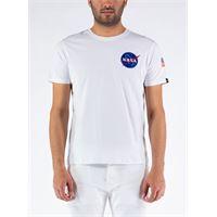 ALPHA INDUSTRIES t-shirt space shuttle uomo