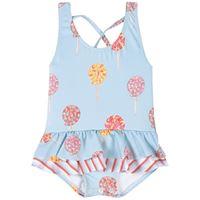 Maria Bianca bambino - lollipops costume da bagno blu - bambina - 1 anni - blu