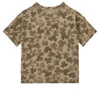 Play Up - printed jersey t-shirt joão - bambino - 6 anni - verde