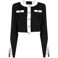 Philipp Plein giacca bicolore - nero