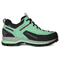 Garmont scarpe trekking dragontail tech goretex eu 35 green / red