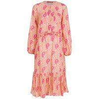 Clube Bossa abito con stampa paisley bryere - rosa