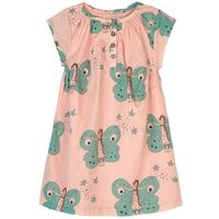 nadadelazos - magic butterfly vestito light rose pink - bambina - 6 anni - rosa