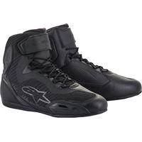 Alpinestars scarpe moto donna Alpinestars stella faster-3 rideknit nero antracite