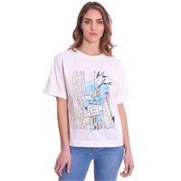 TRUSSARDI JEANS t-shirt trussardi stampata over fit
