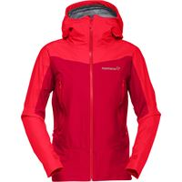 Norrona giacca falketind gtx donna rosso
