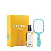 "BALMAIN PARIS HAIR COUTURE set limited edition ""ss21 summer breeze"""