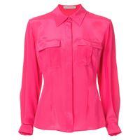 Mary Katrantzou camicia con doppia tasca - rosa