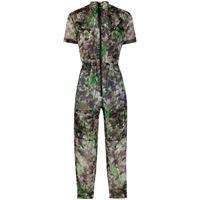 Mr & Mrs Italy tuta intera blossom camouflage - verde