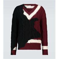 Alexander McQueen pullover in lana