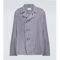 Maison Margiela giacca in lino