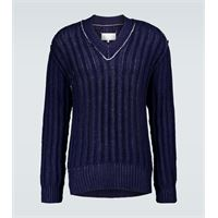 Maison Margiela pullover oversize in cotone