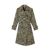 MARC JACOBS trench the leopardato