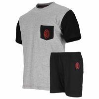 A.C. Milan pigiama corto da uomo 14106 milan prodotto ufficiale