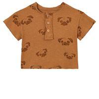 Play Up - printed flamé rib pigiama hazel - bambino - 12 mesi - marrone