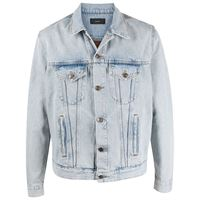 Alanui giacca denim con stampa - blu