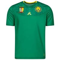 Le Coq Sportif camerun casa replica africa nations cup 2021 xs green forez