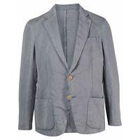 Altea blazer monopetto - grigio