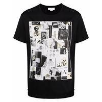 Alexander McQueen t-shirt con stampa - nero