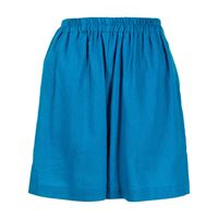 Bambah shorts a vita alta - blu