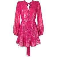 Rebecca Vallance abito corto valencia - rosa