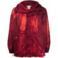 Acne Studios giacca con stampa grafica - rosso