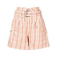 Jonathan Simkhai shorts a vita alta prisha - arancione