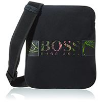 Hugo Boss boss pixel fo_s zip env, borsa a cartella uomo, nero1, onesi