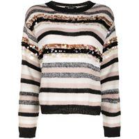 TWINSET maglione a righe - multicolore