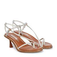 Zimmermann sandali infradito in pelle