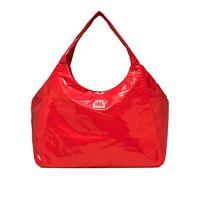 SUNDEK borsa mare in vinile con zip chel donna