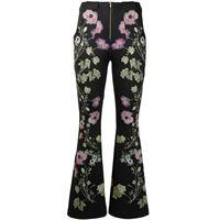 Cynthia Rowley pantaloni hunter a fiori - nero