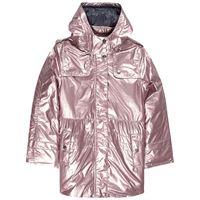 Poivre Blanc bambino - 3-in-1 metallic parka argentato - bambina - 10 anni - rosa