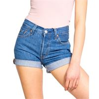 Levi's shorts Levi's donna jeans blu scuro