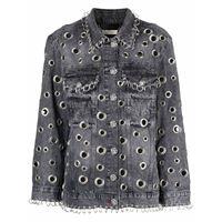 Philipp Plein giacca denim - grigio