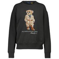 Polo Ralph Lauren felpa safari polo bear in misto cotone