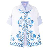 Stella Jean giacca a fiori - bianco
