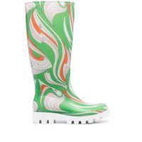 Emilio Pucci stivali da pioggia - verde