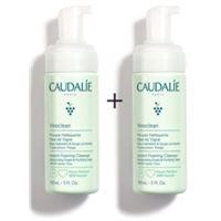 Caudalie linea vinoclean mousse schiuma detergente viso bipack 150 ml