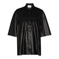 Nanushka camicia roque - nero