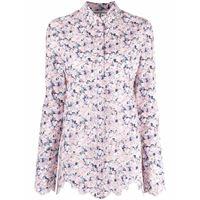 Paco Rabanne camicia a fiori - rosa