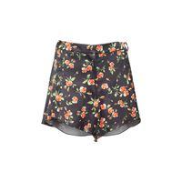 PACO RABANNE shorts in raso pesante stampato