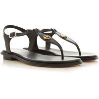 Michael Kors sandali donna in saldo, nero, pelle, 2021, 36 37 38.5 39 40