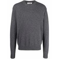 Jil Sander maglione a girocollo - grigio