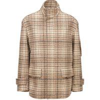 AGNONA giacca in cashmere principe di galles