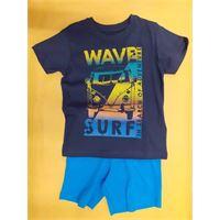 Set t-shirt and bermuda light navy tg 2
