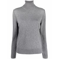 Maison Margiela roll neck cashmere jumper - grigio